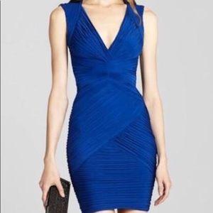 BCBG Maxazria XS blue dress.